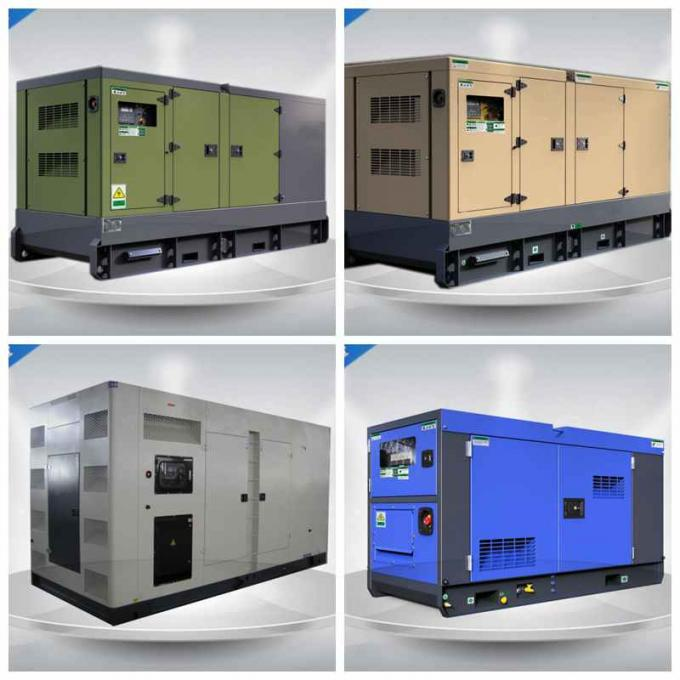 300 - 500 Kw Cummins Silent Diesel Generator Set With 800 L Fuel Tank Capacity