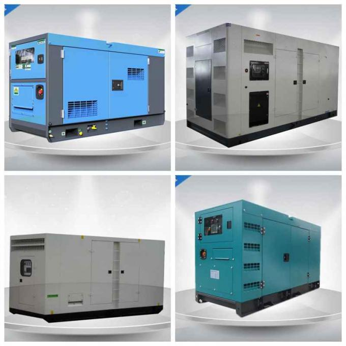 350Kw / 438 Kva 3 Phase Silent Diesel Generator Set With Cummins Engine