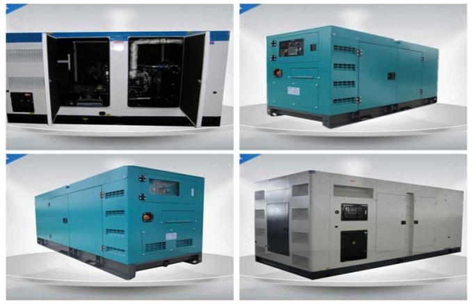 Powerful Water - cooled Silent AC generator set Three Phase 400kw / 500kva
