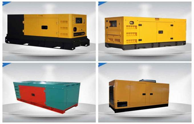 800Kw /1000Kva Canopy Generator Set With Professional Water - Cooled