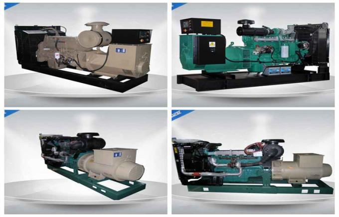 50Hz 400V Electronic Starting Industrial Generator Set 800 L Fuel Tank Capacity