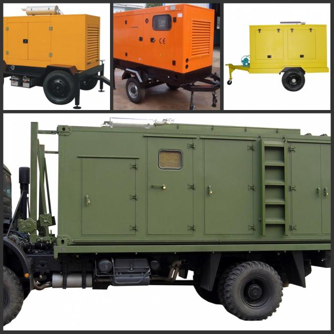 Perkins Engine Trailer Genset,50Hz water cool