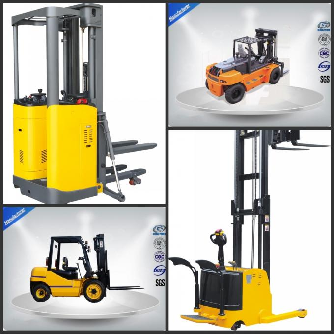 1.5 Tons Hydraulic Electric Forklift Truck High Lift with AC Motor Powered