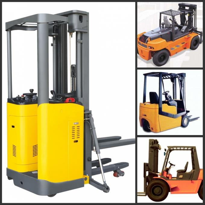 3 Tons No Pollution Dual Fuel Forklift With Standard / Upper - Positioner Exhaust