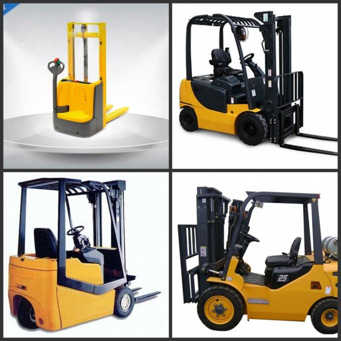 8 Ton Capacity Electric Forklift Truck 8000Kg Easy Maintenance Ac Stepless Inverter