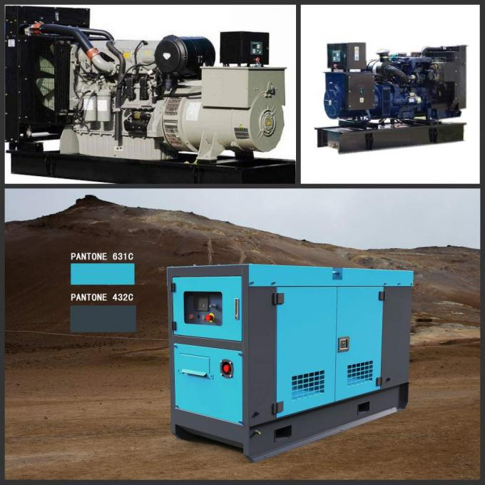 Low Fuel Perkins Diesel Power Generator 20kva Rated Electrical Governoring