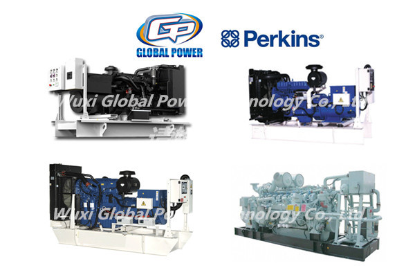 500 KVA Perkins Engine Industrial Generator Set 3 Phase Open Type / Silent Type