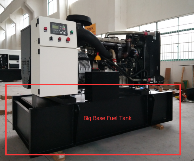 Water Cooled Open Type Perkins Diesel Generator 1506A-E88TAG3, 225KW / 281KVA 60HZ with Big Fuel Base Tank
