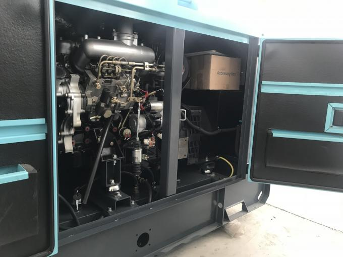 ISUZU 4JB1T Silent Diesel Generator Set 60HZ 28KW / 35KVA Mechanical Speed Governing