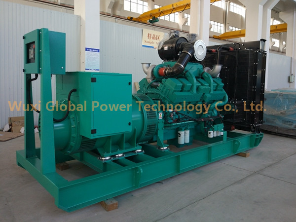 Open Frame Type 800 KW Industrial Generator Set Powered by Cummins KTA38-G5 For Industry