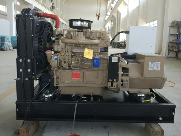 Performance Water - Cooled 30kw Diesel Generator Set AC Three Phase Output Type