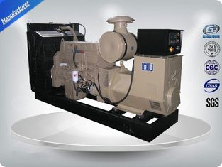 China Electronic Speed Governor 50Hz Open Cummins diesel Generator Set easily operate supplier