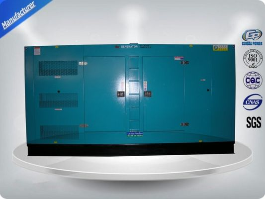 China 350Kw / 438 Kva 3 Phase Silent Diesel Generator Set With Cummins Engine supplier