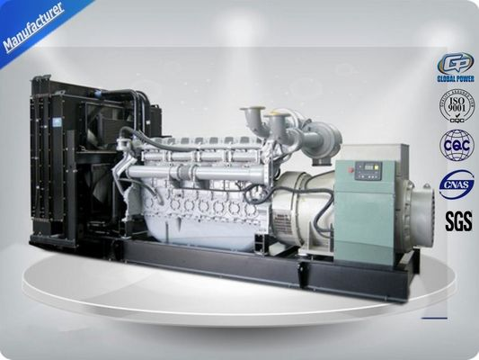 China 10Kva - 2250Kva Black Silent Diesel Generator Set With Perkins Diesel Engine supplier