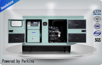 China 75 dB Perkins Deisel Generator Set , Silent Diesel Genset 20 kva / 400v supplier