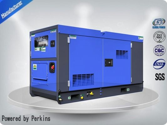 China Widely Used Cummins / Perkins / Volvo Silent Diesel Engine Power Electric Generator 45kva supplier