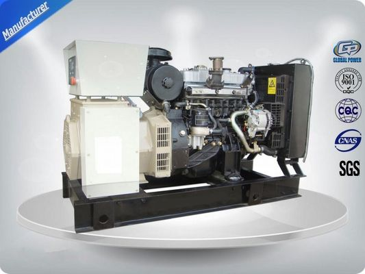 China Isuzu Genset Silent Generator Set With Digital Control Panel 7m ≤ 65DB supplier