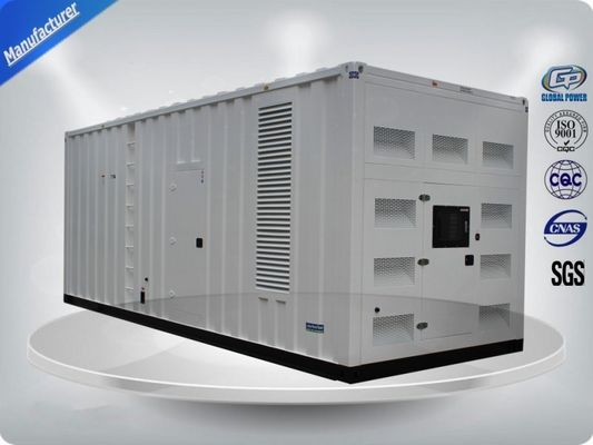 China Perkins 3 Phase Container Generator Set With  900-1125Kw/Kva Prime Power supplier