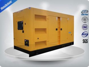 China Rental Cummins Diesel Generator Set Soundproof , 75 dB Three Phase Diesel Generator supplier