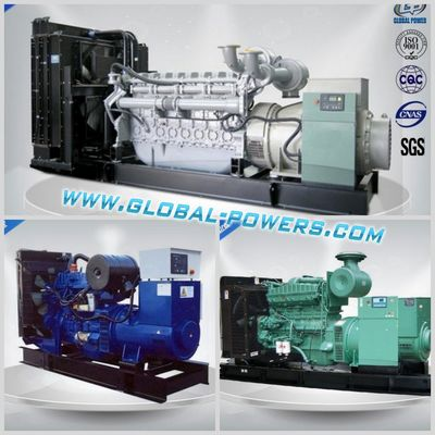 China 10Kw - 80Kw Prime Power Diesel Generator Set (Soudproof Available) With Perkins Diesle Engine supplier