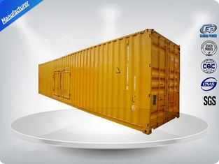 China Perkins Three Phase Container Generator Set 1500 Kva 12 Cylinder Water - Cooled supplier