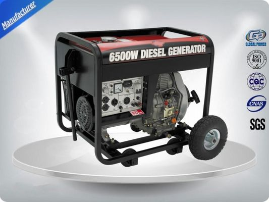China Low Noise Small Portable Generator Set Single Phase 4 Stroke Self - Excitation supplier