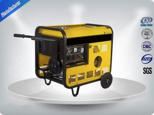 China 11 Kva Low Noise Portable Generator Set Vertical 97 dB With Open Frame supplier