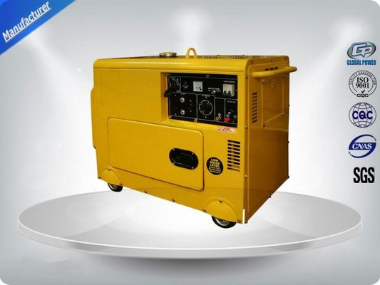 China Three Loops 3 Phase Portable Generator Set 72 dB With Digital Panel , Silent Frame supplier