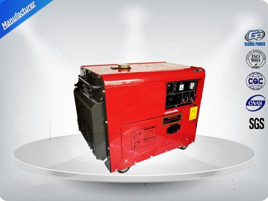 China 5.0 Kva Diesel Portable Generator Set Silent Type With Electric Starter supplier
