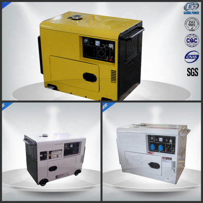 China 6.0 Kva Single Phase Silent Portable Generator  , Portable Silent Generator 4 Stroke supplier