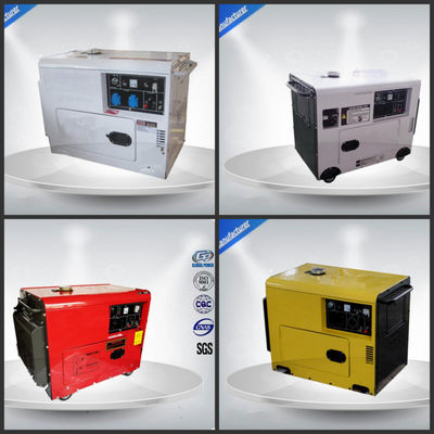 China Lightweight  Portable Backup Generator B Insulation Class 5.7 Kw Rated Power supplier