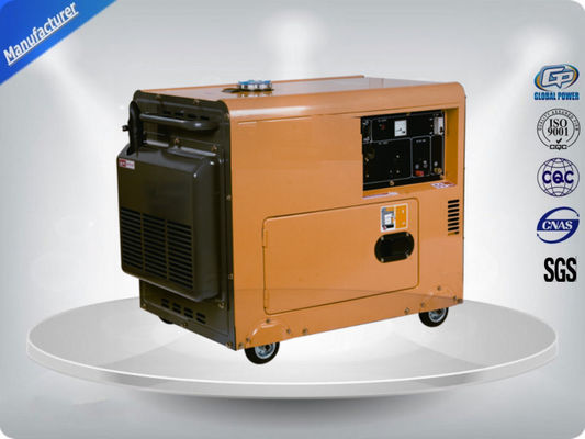 China Residential Electric Start Portable Generator Direct Injection Self - Excitation supplier
