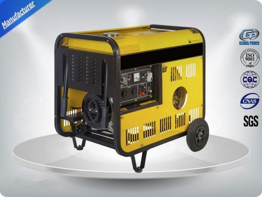 China Gp460 Portable Generator Sets 7.5 Kva ,  26 A Current Single Phase Genset supplier