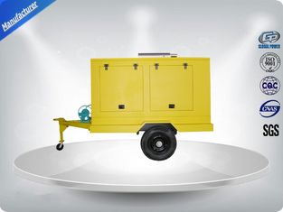 China 12 Cylinder 75dB quietest Trailer Mounted Generator large in - line Config with Dry oil filter supplier