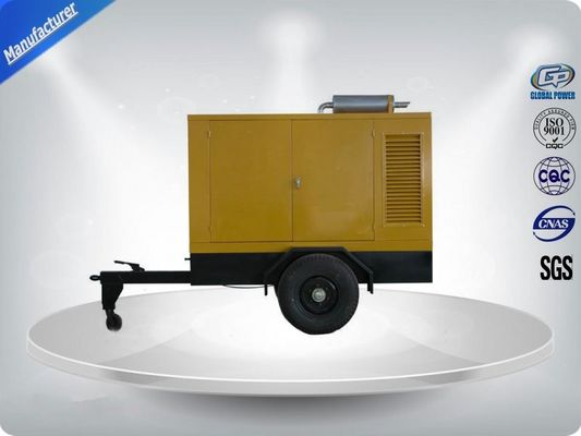 China Movable Three Phase Trailer Mounted Generator Silent Type 200-500Kw 600Kva supplier