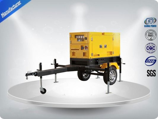 China Rental Trailer Genset 23.3:1 Compression Ratio 1500 R / Min Engine Speed supplier