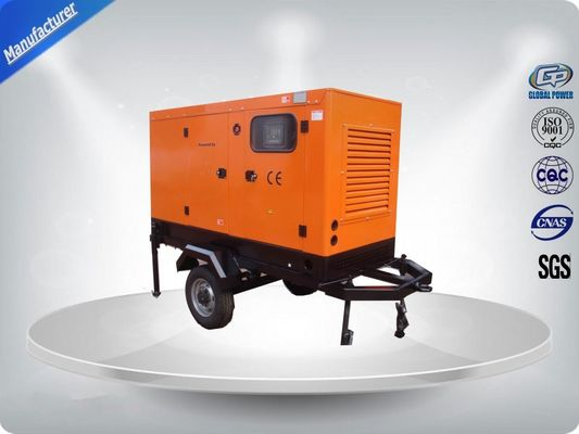 China Water - cooled Mobile Trailer Mounted Generator With Perkins Diesel Engine supplier