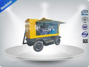 China Brushless Quiet Running Mobile Generators Trailer Mounted Class H Insulation 300Kva supplier