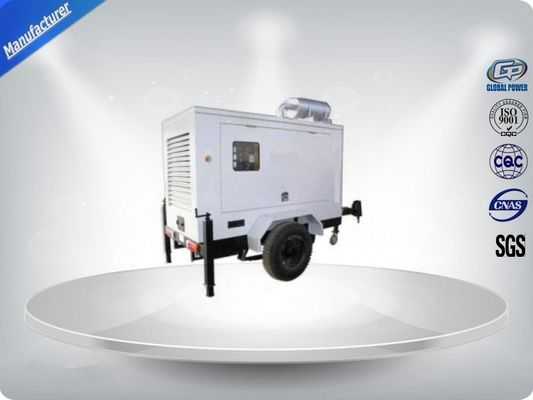 China Brushless Silent Genset Trailer 4 Cylinder Prime Power 50Kw / 63Kva Water - Cooling supplier