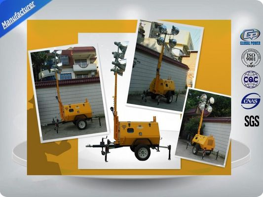 China Trailer Mounted Light Towers supplier
