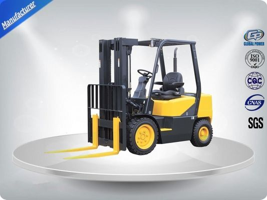 China 3.0 Ton AC Motor Yellow Electric Forklift Truck Hire With Isuzu C240 Engine supplier