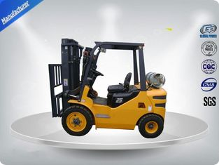 China 3 Tons No Pollution Dual Fuel Forklift With Standard / Upper - Positioner Exhaust supplier