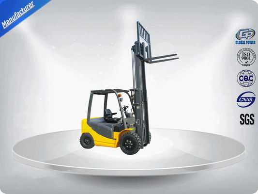 China Pneumatic Tyres Industrial Forklift Truck Hire 2.5 Tons 3M 2 Stage Duplex Mast supplier