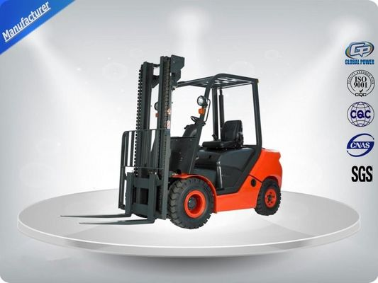 China Gasoline Engine Powered Order Picking Forklift Truck Germany Imported Mast Steel supplier