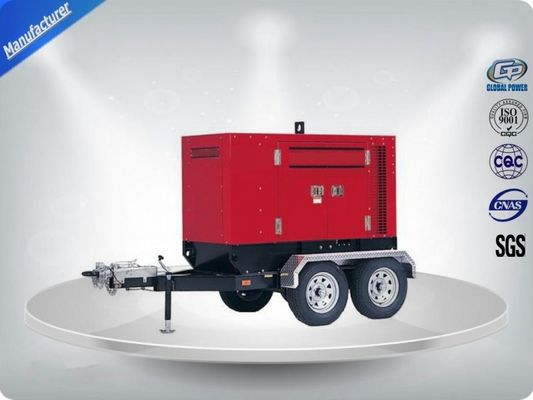 China Three Phase Mobile Type Silent Diesel Generator Set 350kw Electrical supplier