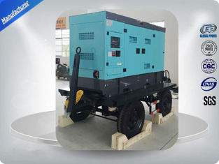 China Water Cooled 50kw / 62.5kva Portable Diesel Generator With Cold Sheet Silent Canopy supplier