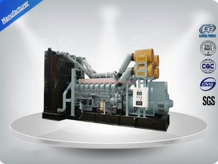China 1520kw 1875kva 50Hz Mitsubishi Diesel Generator With Stamford Alternator , Water Cooled Three Phase supplier