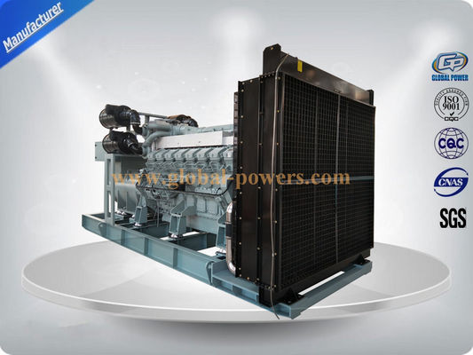 China 600 KVA -- 1250 KVA Original Japanese MITSUBISHI Engine Diesel Generator Set for Industrial Use Low Fuel Consumption supplier