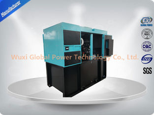 China Low noise 200 KW Perkins Silent Diesel Generator Set 6 Cylinder Water Cooled Low fuel Consumption supplier