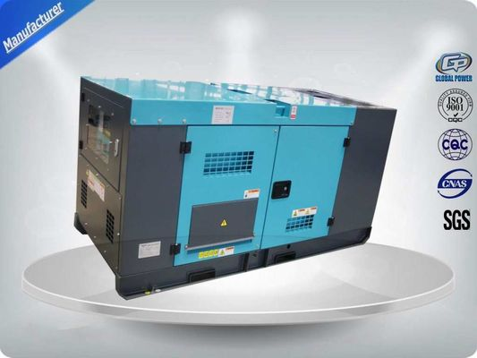 China ISUZU 4JB1T Silent Diesel Generator Set 60HZ 28KW / 35KVA Mechanical Speed Governing supplier